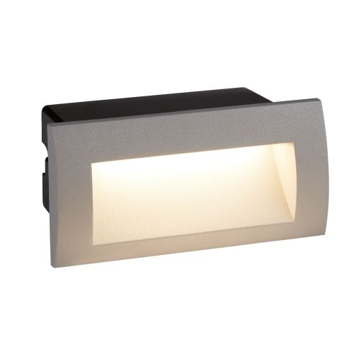 Ankle Led Indoor/Outdoor Recessed Rectangle, Grey 0662Gy
